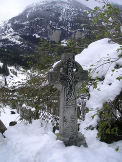 Celtic Cross - Photo by Susan Gregg-Schroeder