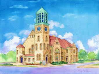 First Presbyterian Church of Danville - Amy Chrisman, Local Artist