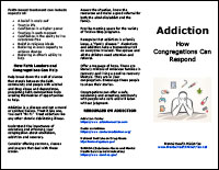 Addiction: How Congregations Can Respond brochure