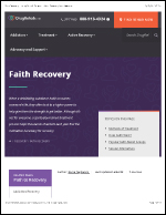 Faith and Religion in Recovery