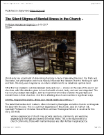The Silent Stigma of Mental Illness in the Church