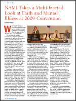 NAMI Takes a Multi-Faceted Look at Faith and Mental Illness at 2009 Convention