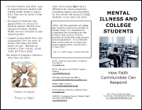 Mental Illness and College Students