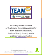Catalogue Resource Guide of Toolkits and Content Suggestions for Faith and Cultural Leaders