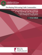 Developing Welcoming Faith Communities