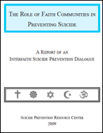 Report of Interfaith Suicide Prevention Dialogue