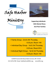 Safe Harbor Ministry - Hales Corners, WI