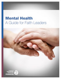 Mental Health and Faith Community Partnership Resources